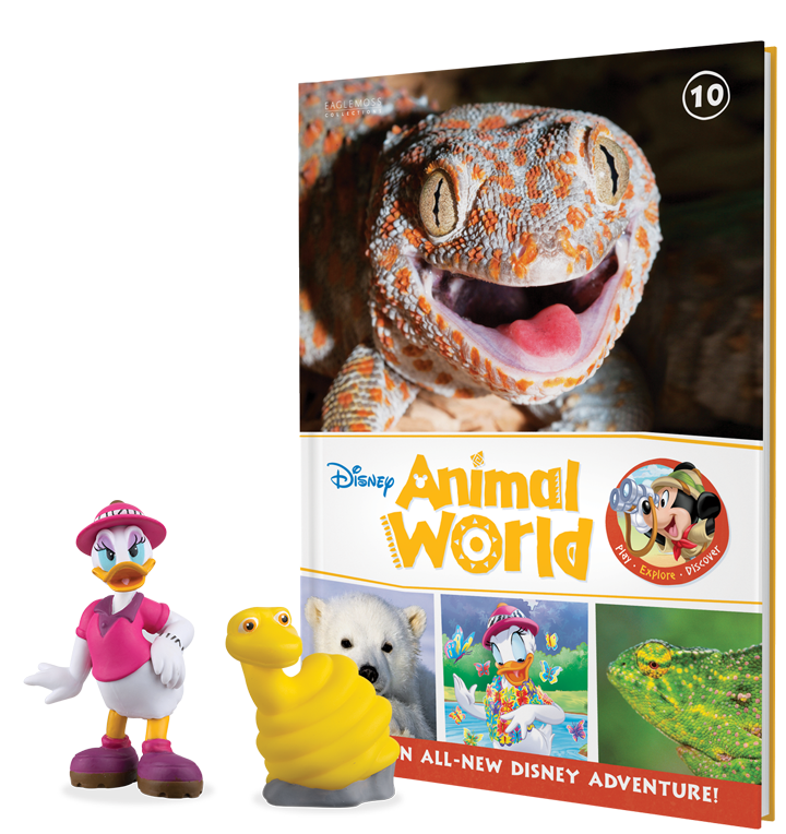 Issue Ten: Lizard book plus Daisy Duck and Sam the Snake