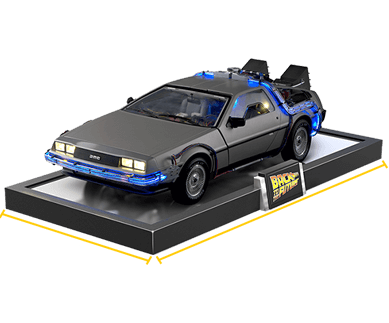 Delorean 1:8 scale model