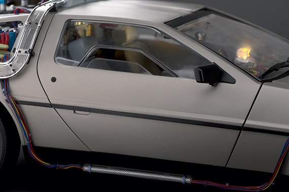 Delorean side windows