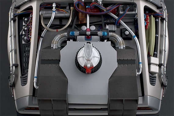 Delorean swappable nuclear reactor