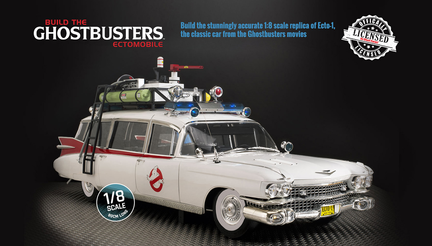 Build the Ghostbuster Ectomobile