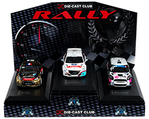 Rally Podium with Cars