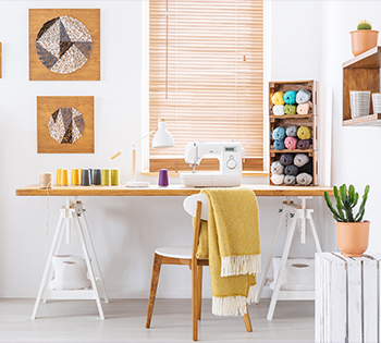 How to tidy up your  craft space