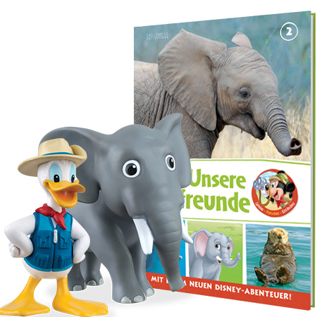 Donald Duck + Edward the Elephant
