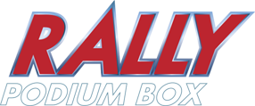 Rally podium logo