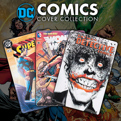 Placas decorativas DC Comics