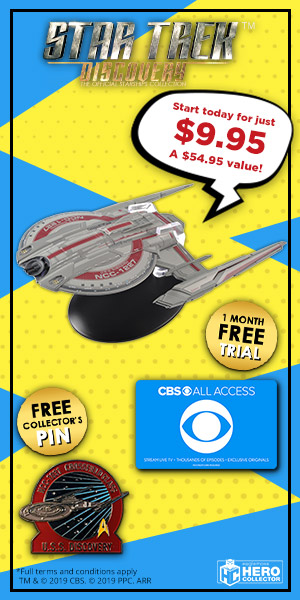 Star Trek: Discovery Starships Convention Special Offer