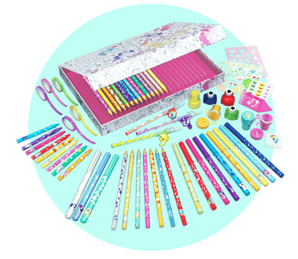 Collectable Colouring kit!