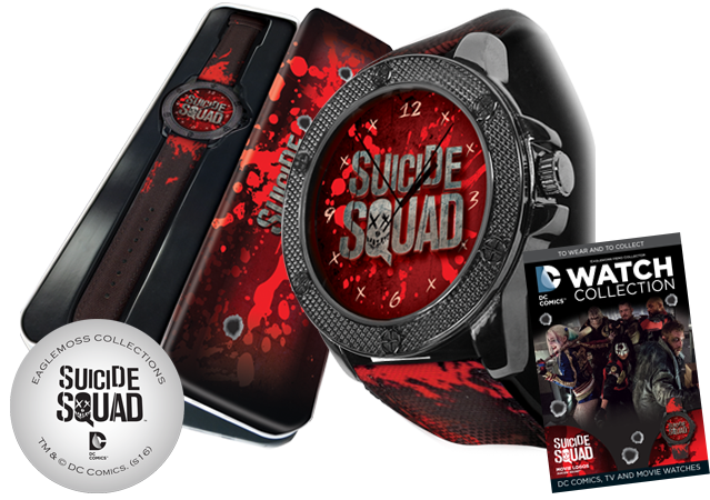 DC Suicide Squad Watch