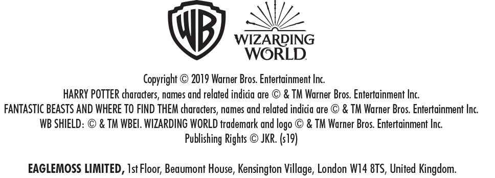 Wizarding World Copyright