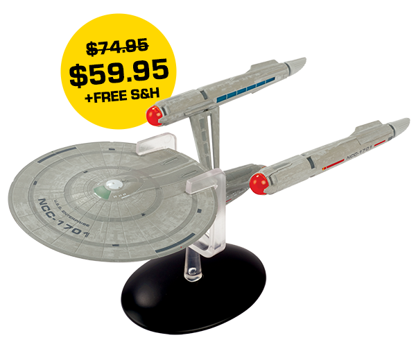 U.S.S Enterprise NCC-1701 10-inch XL Edition (Discovery)