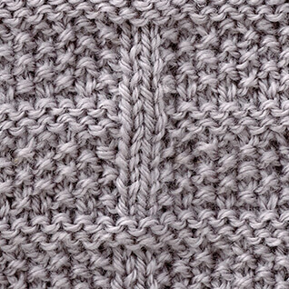 Moss Stitch Check Harmony