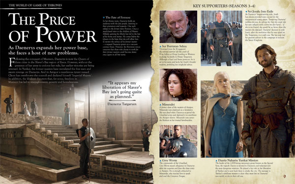 THE WORLD OF GAME OF THRONES