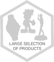large selection of products