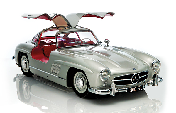 Complete Mercedes Gullwing