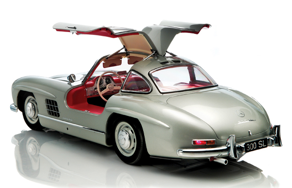 MB 300 SL scale model