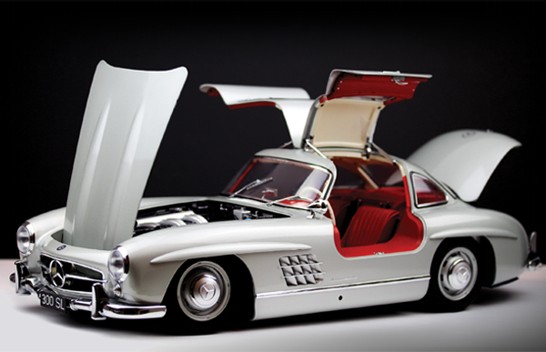 1:8 Eaglemoss MB 300 SL