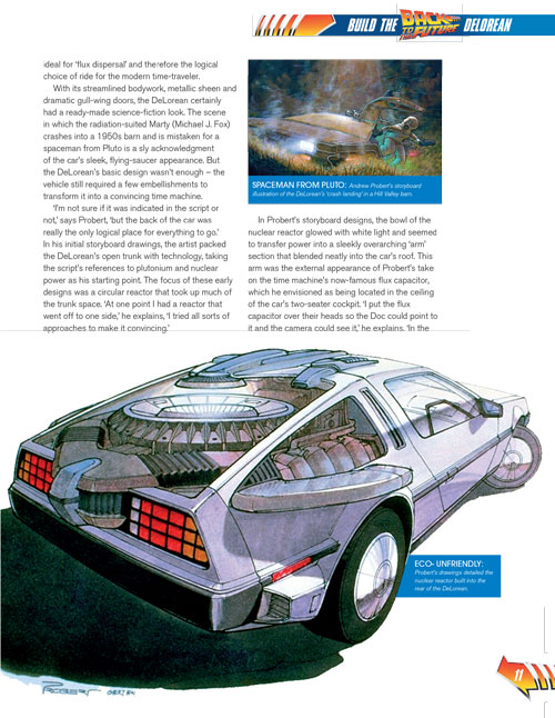 Delorean car design